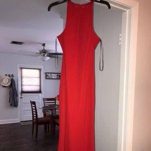 red CK dress (pls read description for length)